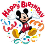 Mickey Birthday Blog